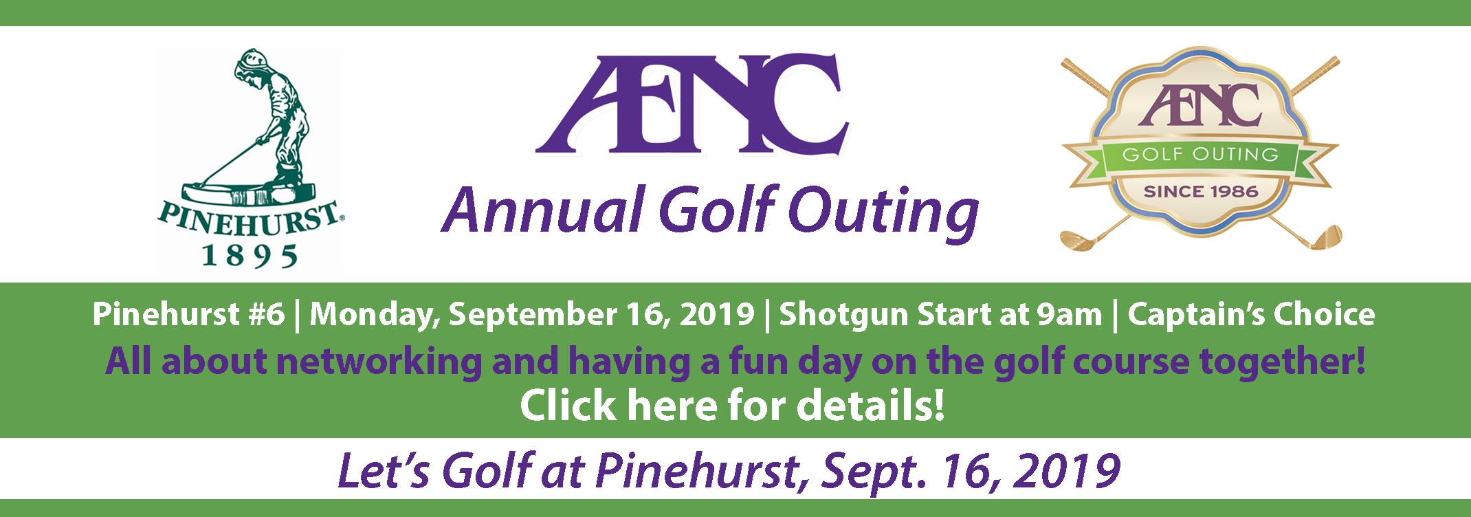 AENC Annual Golf Outing in Pinehurst